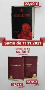 Samo do 11. novembra si lahko priskrbite Trubarjev Abecednik, Katekizem (ali oba skupaj) ter Sveto pismo z motivom in vložki o Primožu Trubarju po posebno nizkih cenah. Ne zamudi te priložnosti!
